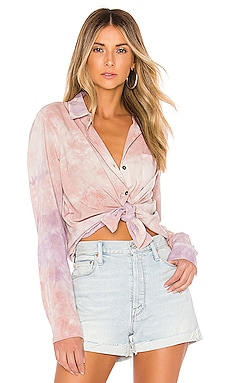Purple Haze Treatment Blouse Splendid $79
