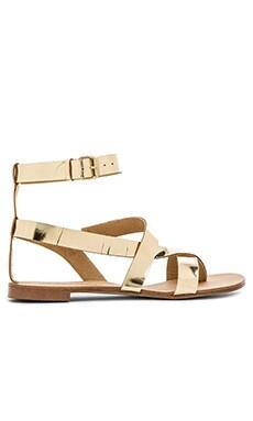 Splendid Crete Sandal in Gold