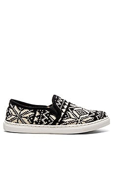 Seaside Slip On in Black