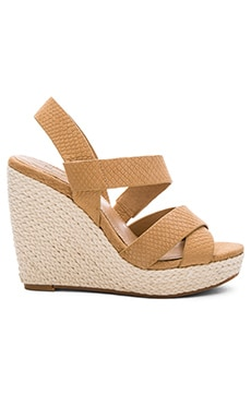 Splendid Dallis Wedge in Nude