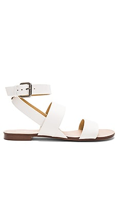 Colleen Sandal in White