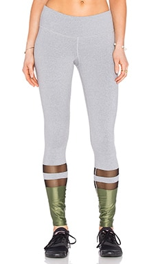Splits59 Ryval Legging en Light Heather Grey, Black, & Army