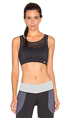 Splits59 Aurora Noir Sport Bra in Black
