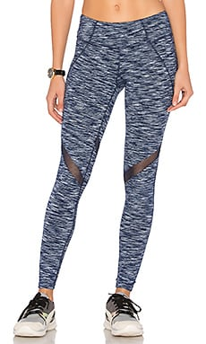 Jordan Leggings in Navy & White Heather