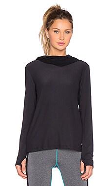 Splits59 Gwen Net Hoodie in Black
