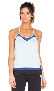 Splits59 Aerin Tank in Rain & Titan & Black