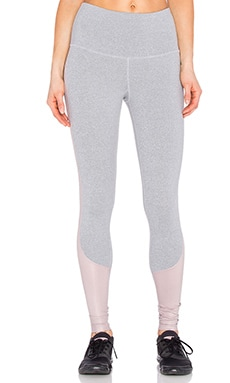 Splits59 Davis Legging in Heather Light Grey & Sedona