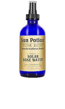 Beauty + Aromatherapy Solar Rose Water Mist Sun Potion $37