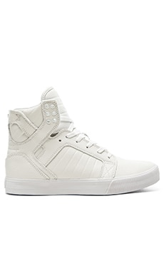 Supra Skytop in White
