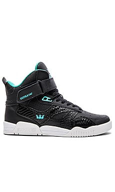 Supra Bleeker in Black Leather