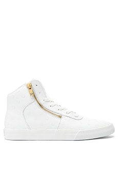 Supra Cuttler Polka Dot Sneaker in White