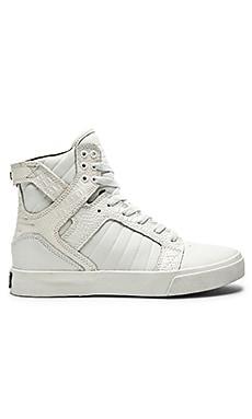 Supra Skytop Sneaker in White