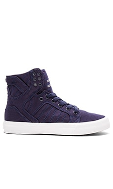 Skytop D High Top Sneaker en Marine