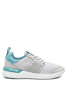 Supra Scissor Sneaker in Light Grey