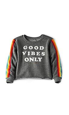 Good Vibes Only Crop Sweatshirt