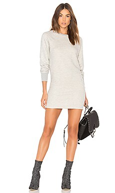 Heart Sweatshirt Dress