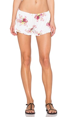 Spiritual Gangster Ruffle Short in Floral Pattern