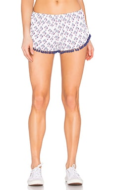 Spiritual Gangster Dreamcatcher Pompom Short in Dreamcatcher Print