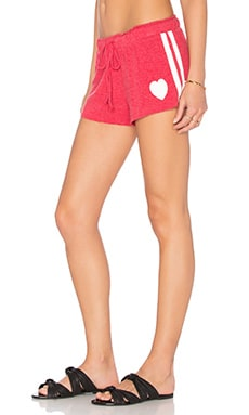 Savasana Beach Short en Cerise