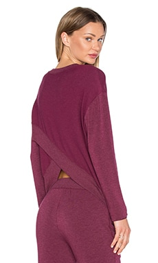 Laguna Tulip Back Pullover in Currant