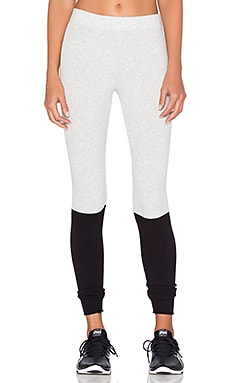 Spiritual Gangster Ballet Legging in Ash & Black