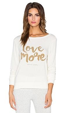 Spiritual Gangster Love More Savasana Sweater in Stardust