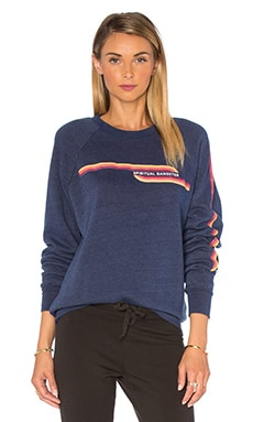 SG Retro Stripes Sweatshirt in Vintage Navy