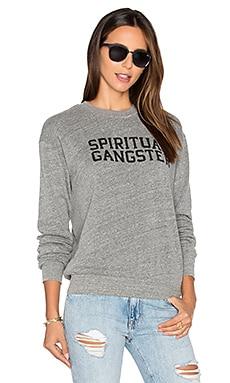 Varsity logo sweatshirt - Spiritual Gangster
