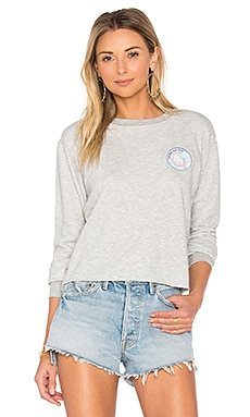 Aloha All Day Crop Sweatshirt