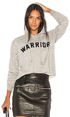 SWEAT À CAPUCHE CROPPED WARRIOR ARCH