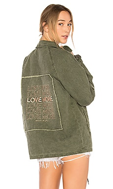 Love More Coach Jacket