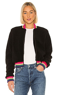 Everything SG Furry Bomber Jacket Spiritual Gangster $96