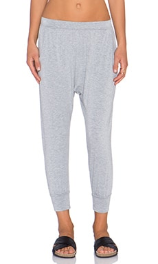Spiritual Gangster Harem Pant in Heather Grey