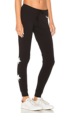 Namaste Stars Sweatpant in Black