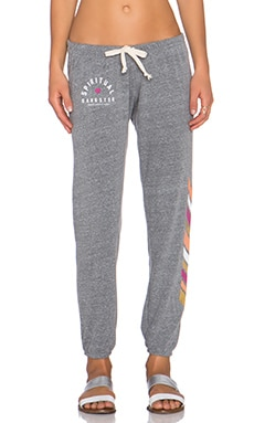 Spiritual Gangster Mini Arch Sweatpant in Heather Grey