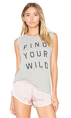 Find Your Wild Tank in Heather Grey