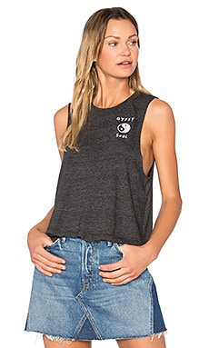 Gypsy Soul Tank in Vintage Black