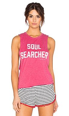 Soul Searcher Burnout Festival Tank in Popsicle