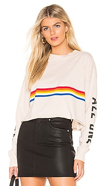 All One Oversized Crop Tee Spiritual Gangster $78 NEW ARRIVAL