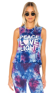 Peace Fun Dye Crop Tank Spiritual Gangster $24 (FINAL SALE)