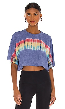 Solstice Cropped Tee Spiritual Gangster $78