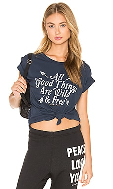 All Good Things Concert Tee in Indigo