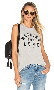Nothing But Love Tank in Heather Grey