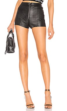 Leather Hot Pants SPRWMN $491