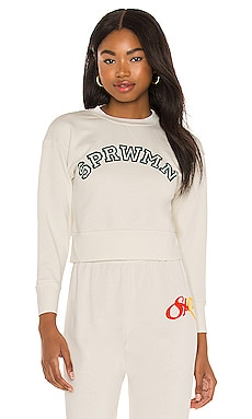 Logo Shrunken Sweatshirt SPRWMN $195
