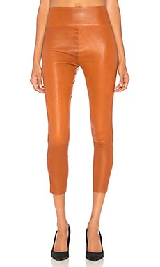 High Waist 3/4 Leather Legging SPRWMN $850