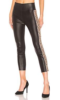 Leather Snake Stripe Capri SPRWMN $1,275