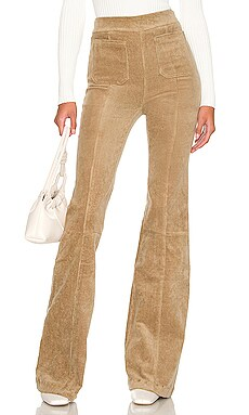 Patch Pocket Super Flare Corduroy Pant SPRWMN $295 NEW