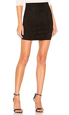 Suede Mini Skirt SPRWMN $488