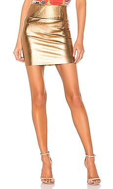 Leather Mini Skirt SPRWMN $325